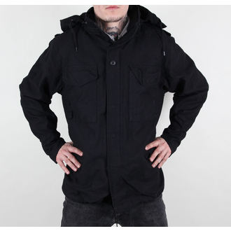 bunda pánská M65 Fieldjacket NYCO washed - BLACK - 100304