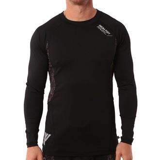 tričko pánské s dlouhým rukávem (termo) IRON FIST - Stamina Base Layer - Black