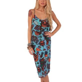 šaty dámské IRON FIST - Kokomoan Keyhole - Turquoise