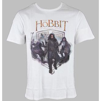 tričko pánské Hobit - Balin & Kili & Bifur - White