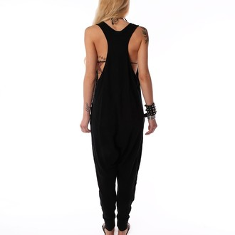 overal dámský IRON FIST - Loose Tooth Romper - Black