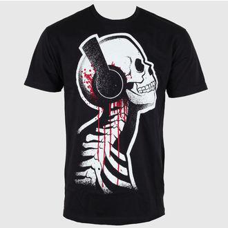 tričko pánské Akumu Ink - Black Tee - 4TM09