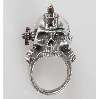prsten Steamhead - Alchemy Gothic - R186