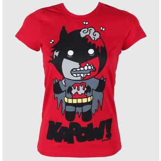tričko dámské COSMIC - Batzombie - Red