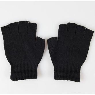 rukavice bezprsté POIZEN INDUSTRIES - BGS Gloves - Black/White, POIZEN INDUSTRIES