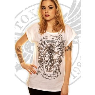 tričko dámské Toxico - JJ Gypsy - White, TOXICO
