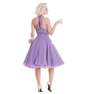 šaty dámské HELL BUNNY - Charlotte - Lavndr, HELL BUNNY