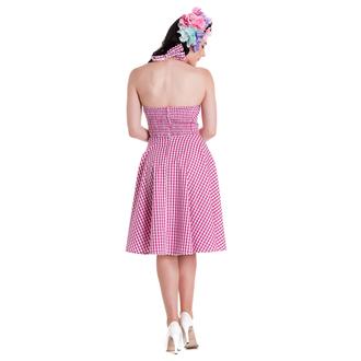 šaty dámské HELL BUNNY - Charlotte - Pink, HELL BUNNY