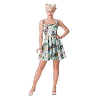 šaty dámské HELL BUNNY - Becky - Blue, HELL BUNNY