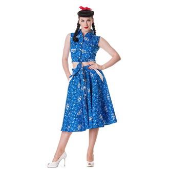 košile (vesta) dámská HELL BUNNY - Bandana - Blu