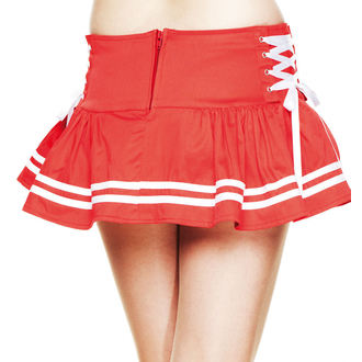 sukně dámská HELL BUNNY - Motley - Red