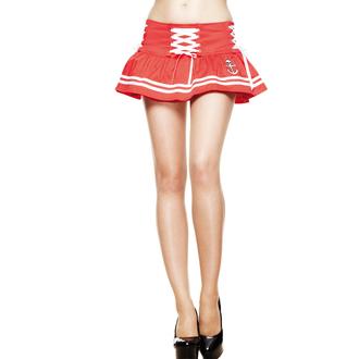 sukně dámská HELL BUNNY - Motley - Red, HELL BUNNY