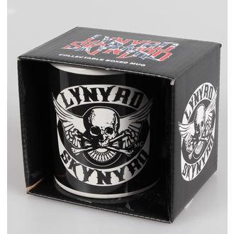 hrnek Lynyrd Skynyrd - Logo - HMB, HALF MOON BAY, Lynyrd Skynyrd