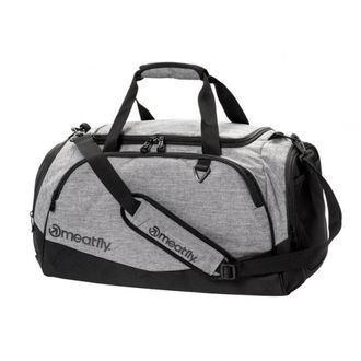 taška cestovní MEATFLY - ROCKY 2 DUFFLE - A 4/1/55 - Heather Grey/Black - MEAT177