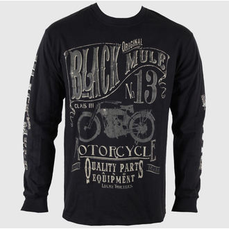 tričko pánské s dlouhým rukávem LUCKY 13  Black Mule