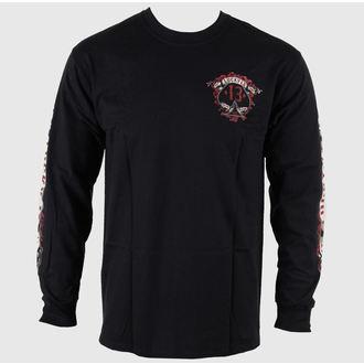 tričko pánské s dlouhým rukávem LUCKY 13 - Motor Skull, LUCKY 13