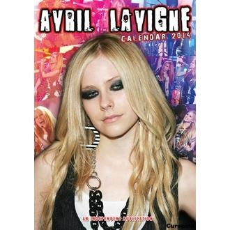 kalendář na rok 2014 Avril Lavigne