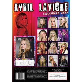 kalendář na rok 2014 Avril Lavigne, NNM, Avril Lavigne