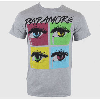 tričko pánské Paramore - Pop Tear Sports Grey - LIVE NATION, LIVE NATION, Paramore