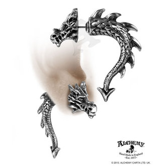 náušnice Tor Dragon - ALCHEMY GOTHIC
