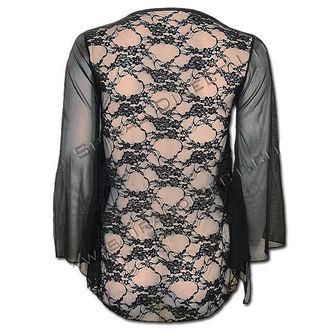 tričko dámské s dlouhým rukávem SPIRAL - Goth Cross - DT219313