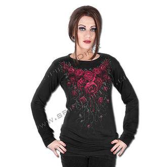 tričko dámské s dlouhým rukávem SPIRAL - Blood Rose