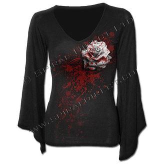 tričko dámské s dlouhým rukávem SPIRAL - White Rose - K020F436