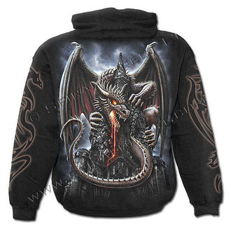mikina pánská SPIRAL - Dragon Lava - Black - L014M451