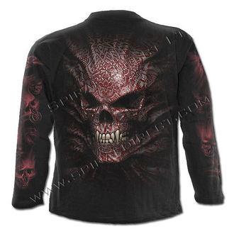 tričko pánské s dlouhým rukávem SPIRAL - Goth Skull - T069M301