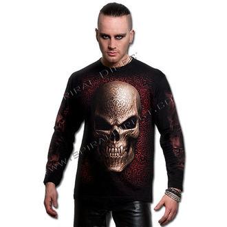 tričko pánské s dlouhým rukávem SPIRAL - Goth Skull