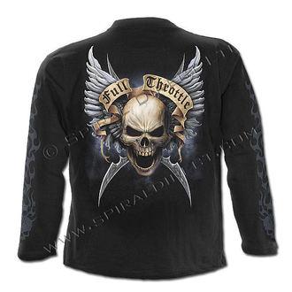 tričko pánské s dlouhým rukávem SPIRAL - Shut Up And Ride