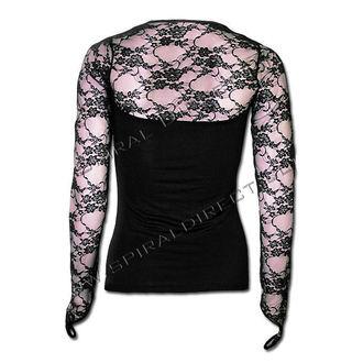 tričko dámské s dlouhým rukávem SPIRAL - Rose Reflections - T078F434
