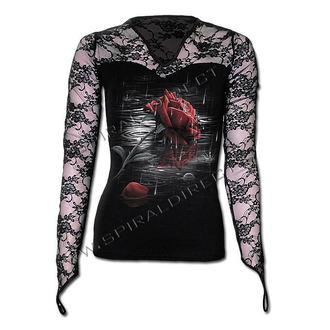 tričko dámské s dlouhým rukávem SPIRAL - Rose Reflections