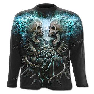 tričko pánské s dlouhým rukávem SPIRAL - Flaming Spine - W016M304