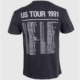 tričko pánské AMPLIFIED - Guns N' Roses - Tour 91 Faded - Black, AMPLIFIED, Guns N' Roses