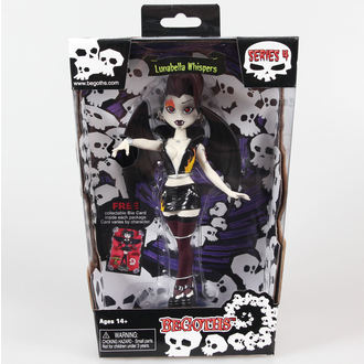 figurka Goth Silver Spring Fashion Doll Lunabella - Purple