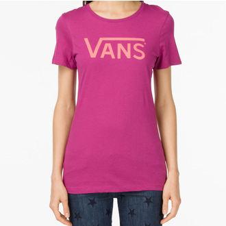 tričko dámské VANS - G Allegiance - Boysenberry - VNW8BJC