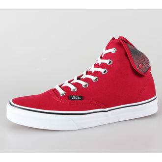 boty VANS - U Authentic Hi 2 - (Snake) chili pepper/true white - VUC18S1