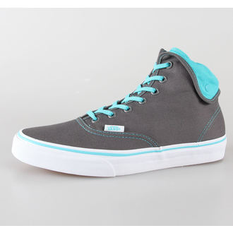 boty VANS - U Authentic Hi 2 - pewter/scuba blue - VUC190T