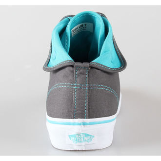 boty VANS - U Authentic Hi 2 - pewter/scuba blue