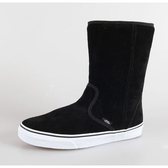 boty VANS - U SLIP-ON  Boot - (Suede) black - VQG4A60