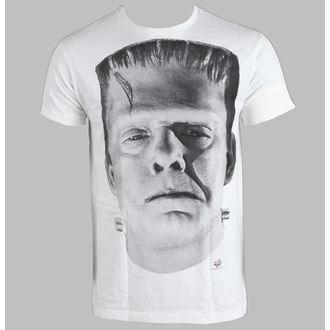tričko pánské Frankenstein - White - LIVE NATION - 10405