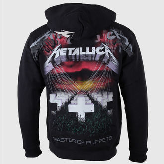 mikina pánská Metallica - Master of Puppets - Black - RTMTLZHBMOP