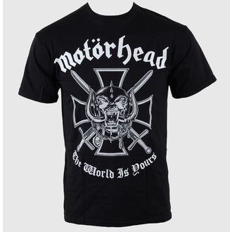tričko pánské Motörhead - Iron Cross (The World is Yours) - ROCK OFF, ROCK OFF, Motörhead