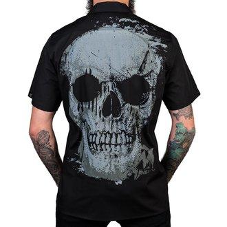 košile pánská WORNSTAR - Adamant - Black, WORNSTAR