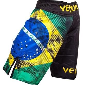 boxerské kraťasy VENUM - Brazilian Flag - Black, VENUM