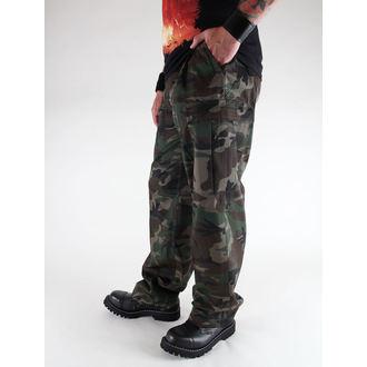 kalhoty pánské BRANDIT - US Ranger Hose Woodland, BRANDIT