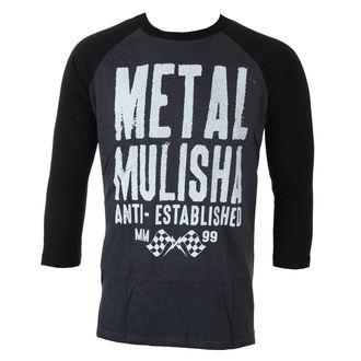tričko pánské s 3/4 rukávem METAL MULISHA - FIRST RAGLAN L/S, METAL MULISHA