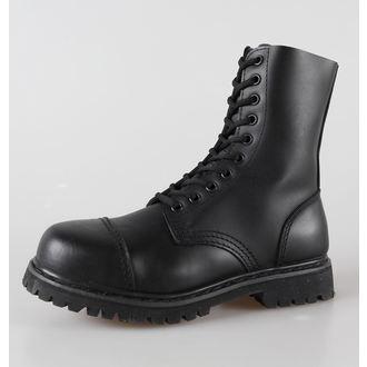 boty kožené 10dírkové BRANDIT - Phantom Black - 9002/2