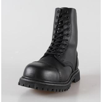 boty kožené 10dírkové BRANDIT - Phantom Black, BRANDIT